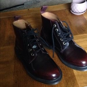 Dr. Martens Red boots